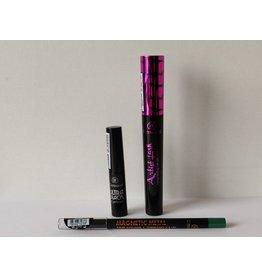 BONUS PAKKET - Artist Lash Long-Lasting Mascara/Eyeliner/Magnetic Metal 16H eyeliner - Groen