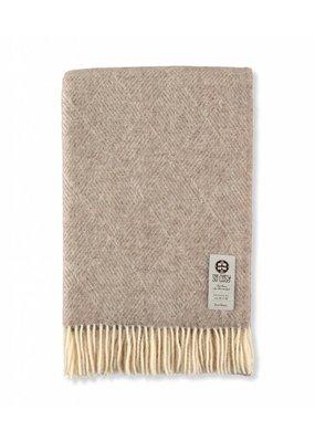So Cosy Plaid 100% wool. Checks Brown