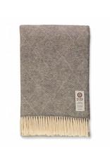 So Cosy Plaid 100% wool Diamond Soft Gray