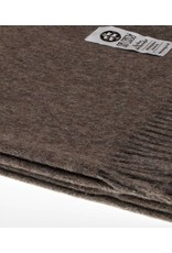 So Cosy Plaid 100% Baby Alpaca wool Dark brown