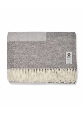 So Cosy Blanket 100% wool Soft Gray