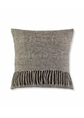 So Cosy Cushion 100% wool Squares Soft gray