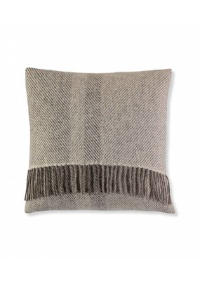 So Cosy Pillow 100% wool Stripes soft gray