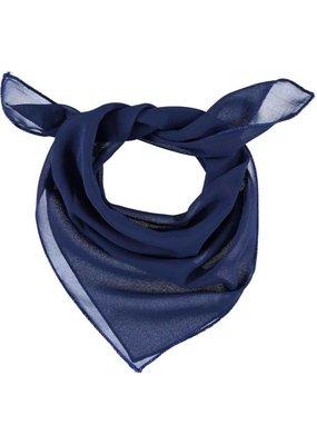 Sjaal donkerblauw vierkant