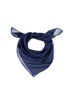 Scarf dark blue square