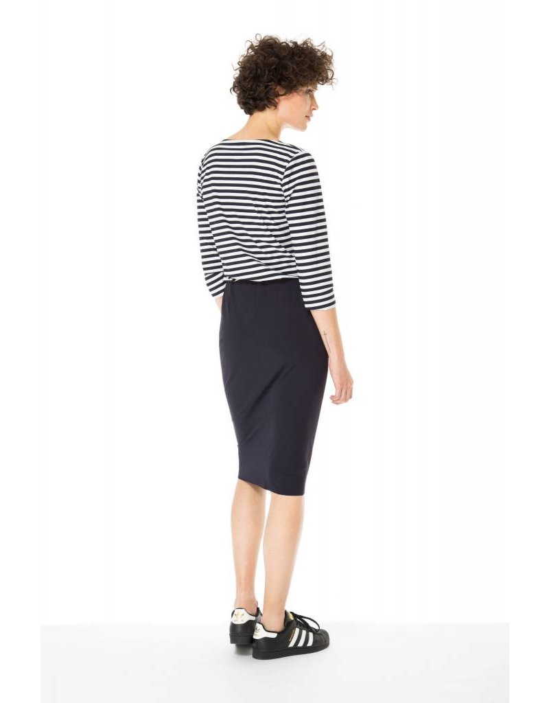 Zenggi Pencil Skirt Ink Blue