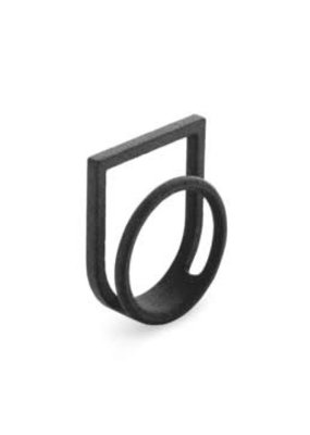 Ola Ring double with black frame