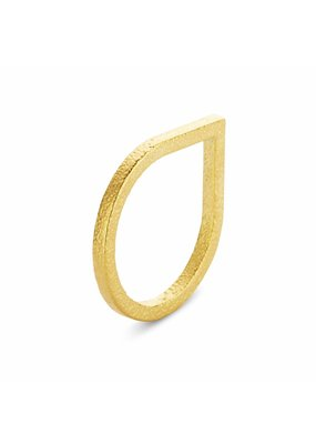 Ola Ring druppel goud