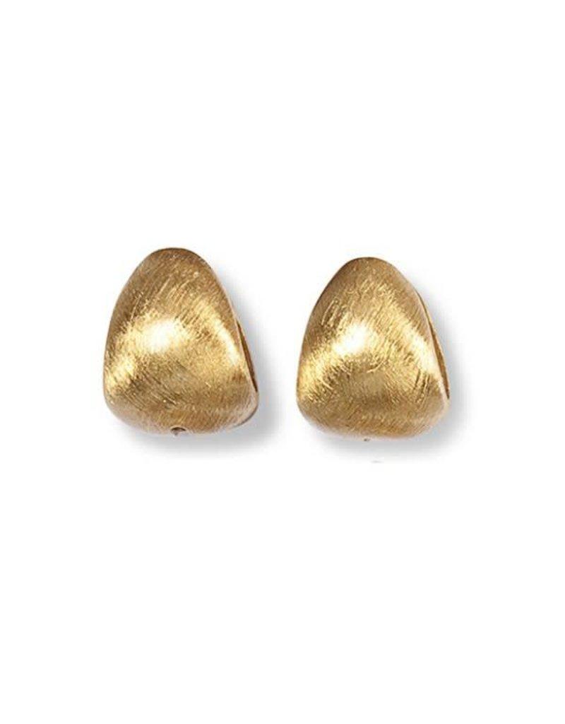 Heide Heinzendorff Creoles Eva silver gold plated matt