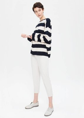 Zenggi Oversized Cotton Pullover Midnight Blue