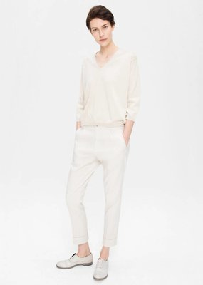 Zenggi Linen Mix Chino Chalk