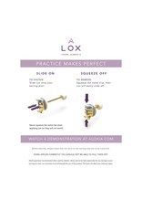 LOX Safety Clasp Earrings