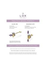 LOX Veiligheidsslotjes Oorbellen