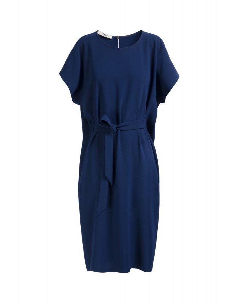 Zenggi Oversized Drapy Dress Royal Blue