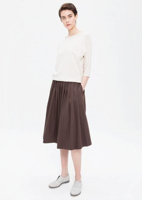 Zenggi Plated Skirt Hazel