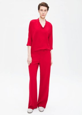 Zenggi Wide Leg Pants Fiery Red
