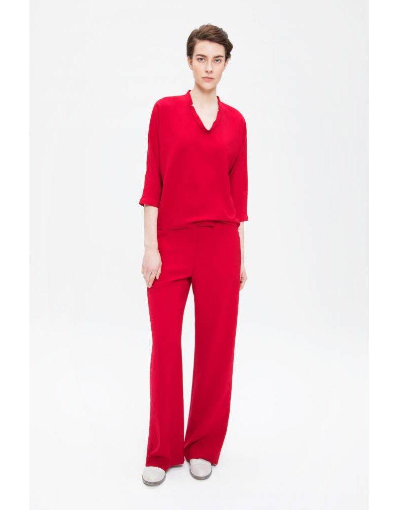 Zenggi Wide Leg Pants Fiery Red