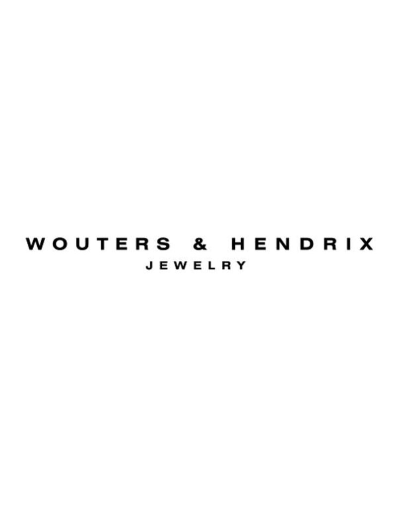 Wouters & Hendrix Stud Earrings With Curled Wire