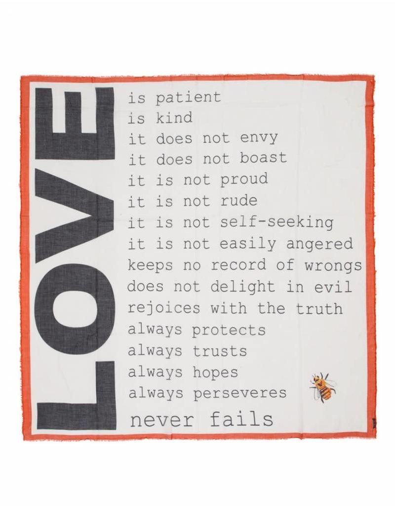 Faliero Sarti Sjaal Always Love
