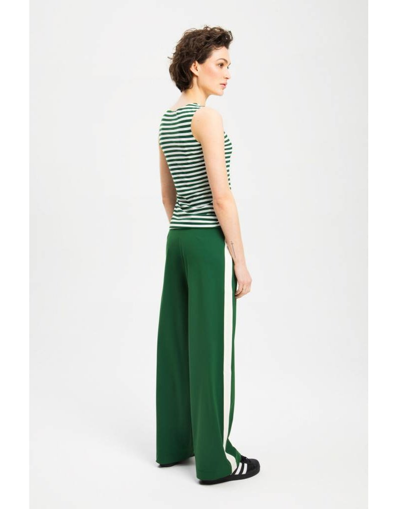 Zenggi Tank Top Stripe Green