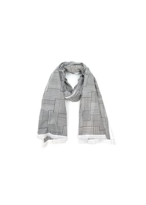 Mois Mont Scarf Design 273 Gray Shadow