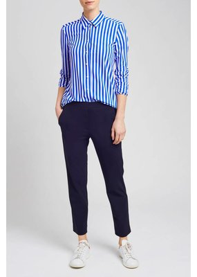 Zenggi Shirt Stripe Indian Blue