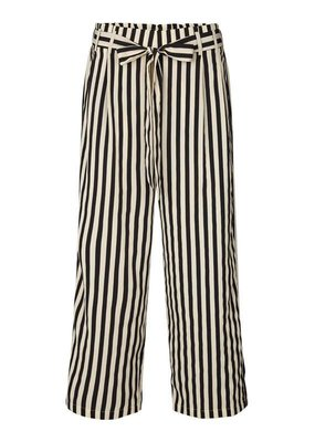 Lollys Laundry Stripes Pants Black