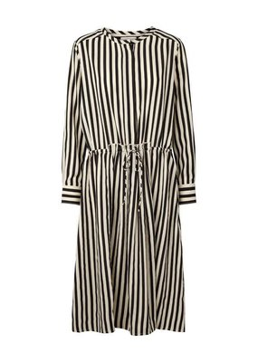 Lollys Laundry Stripes Dress Black