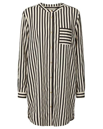 Lollys Laundry Stripes Shirt Black