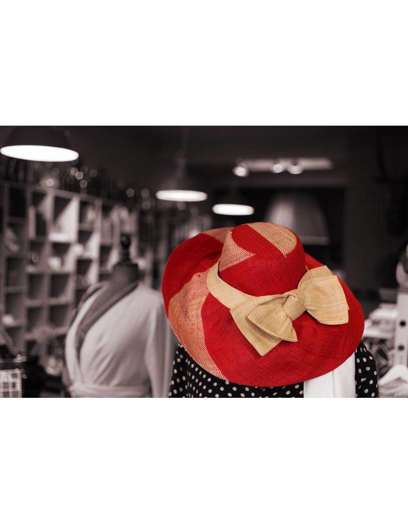 Straw hat small
