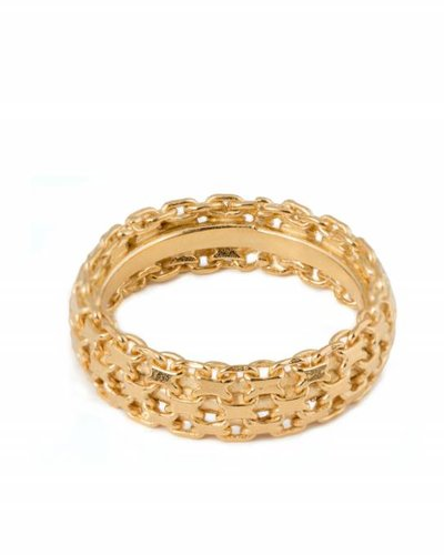 Wouters & Hendrix TEXTURED RING GOLD