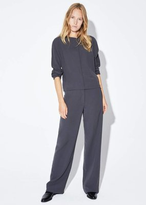 Zenggi WIDE LEG CREPE PANTS GREY