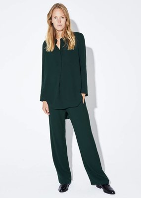 Zenggi DRAPY PANTS DEEP GREEN