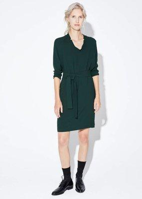Zenggi DRAPY LOOSE DRESS DEEP GREEN
