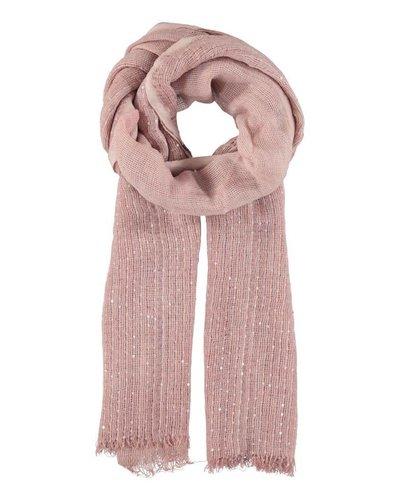 Sjaal roze gespikkeld
