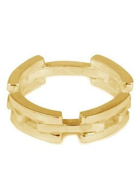 Wouters & Hendrix ELEGANT CHAIN RING GOLD