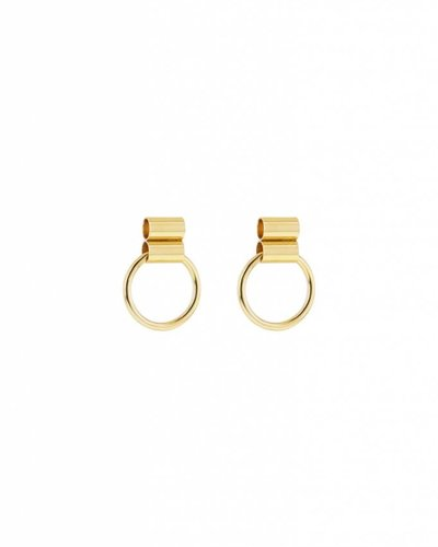 Studio Collect Post tube earrings