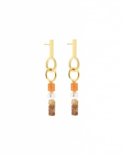Studio Collect Eclectic statement earrings