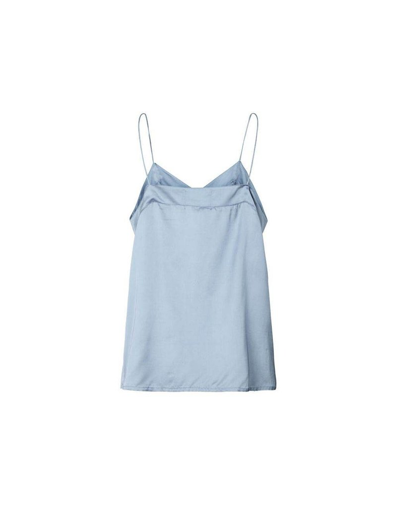 Lollys Laundry Solid Shiny Viscose Top