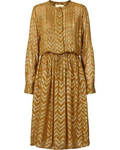 Lollys Laundry Zigzag foil print Dress