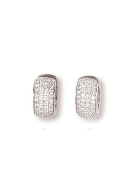 Heide Heinzendorff Creoles Pippa Silver Crystal