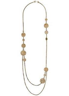Konplott Necklace (long) Studio 54 beige size L,M, S,XS antique