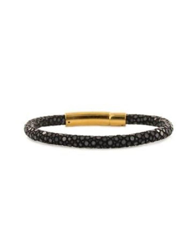 Barong Barong Bracelet Rye narrow Black