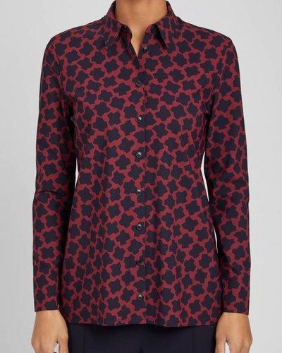 Zenggi Shirt printed red