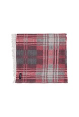 Scarf red / blue / white checked