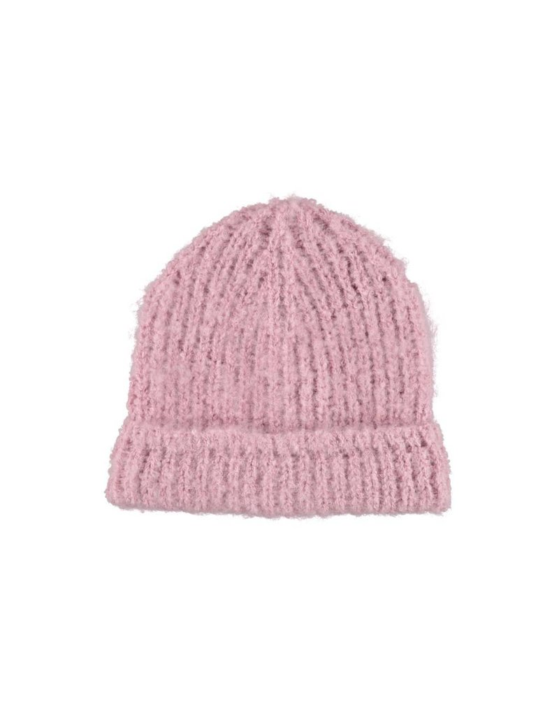 Pink woolly hat