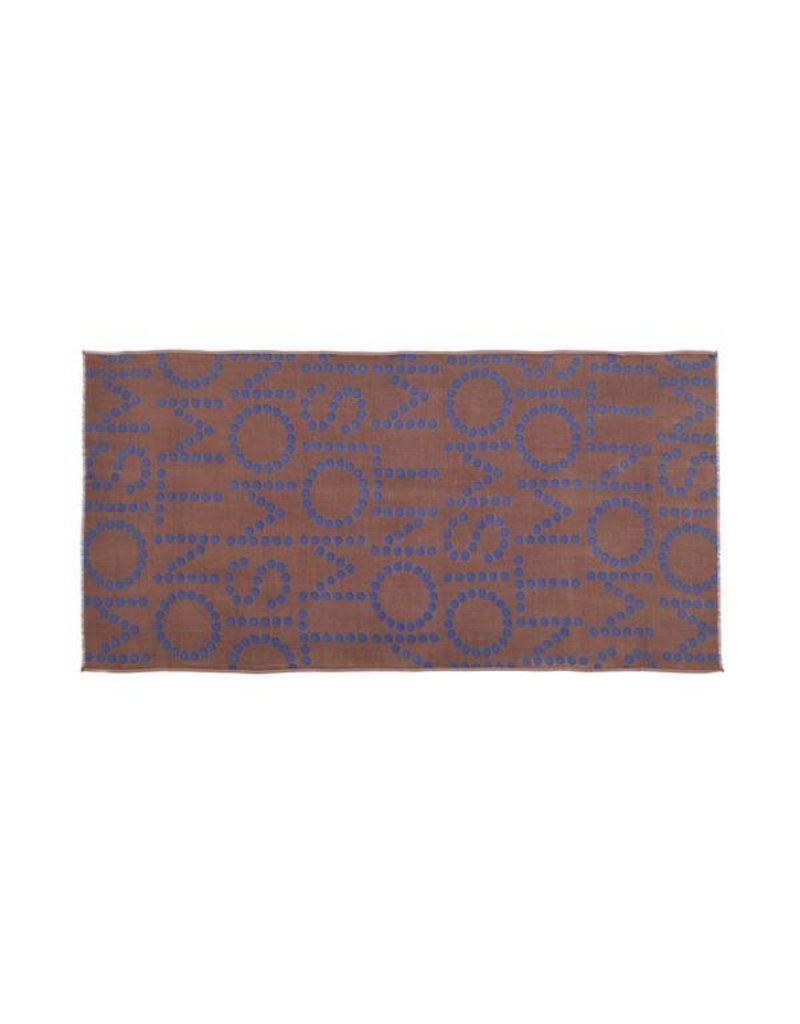 Mois Mont Design Scarf 301 Chocolate