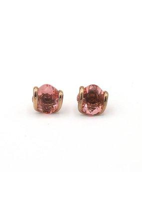 Andrea Marazzini Oorbellen rosé goud mini rose peach lobo