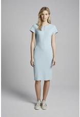Travel Dress Zipper Dress Aqua