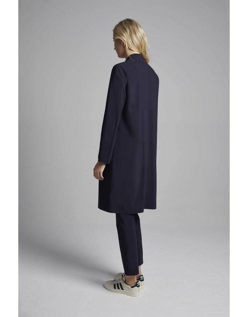 Travel Dress Sporty Coat Ink Blue